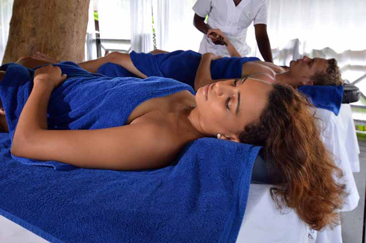 Couples His and Hers Massage